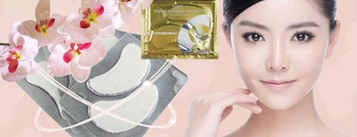 Маска для кожи вокруг глаз Crystal Collagen Eye Mask