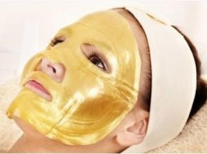 Маска для лица Gold collagen mask