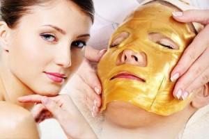 Gold collagen facial Mask