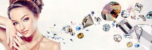 Ювелирная бижутерия браслеты кольца подвески серьги